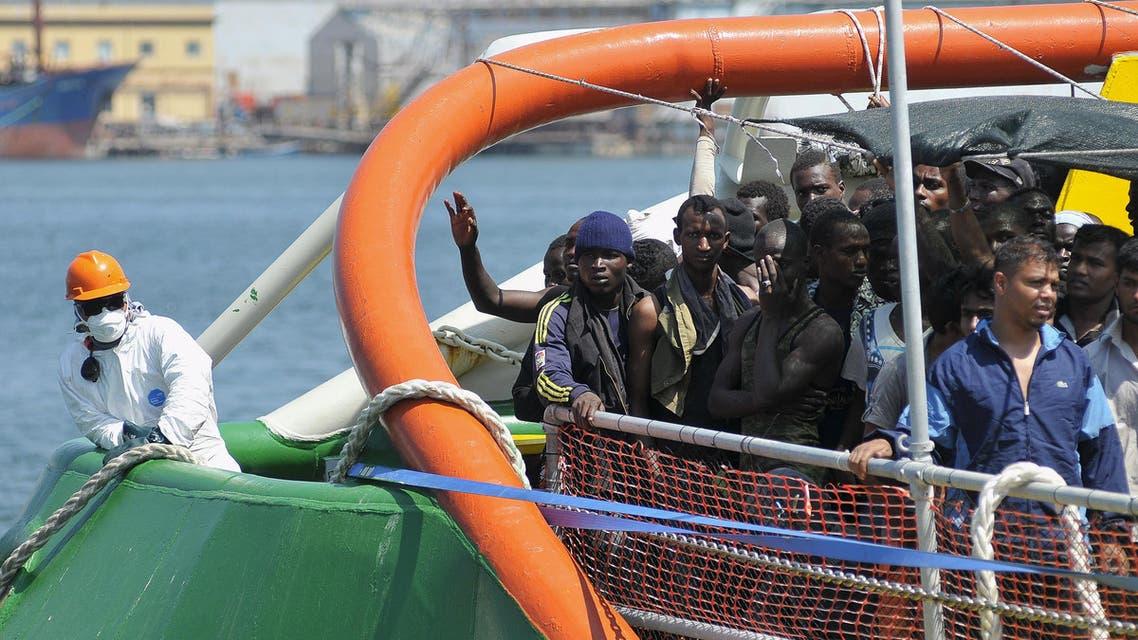 مهاجرون غير شرعيون في إيطاليا (أرشيفية)