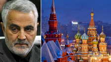 اقوام متحدہ کی پابندی کے باوجود ایرانی جنرل کا دورۂ روس