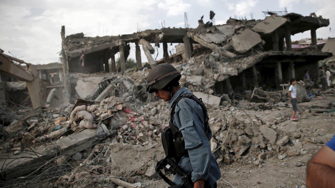 انفجار في كابول افغانستان