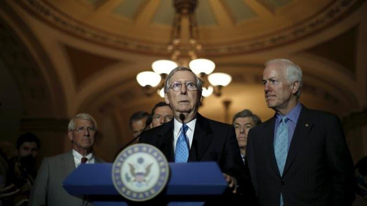 الزعيم الجمهوري مكونيل لم يضغط لتبرئة ترمب أو إدانته