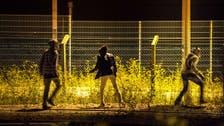 صدامات بين الشرطة ومهاجرين في مخيم كاليه بشمال فرنسا