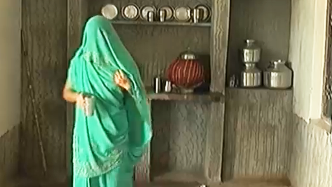 rape victim gives TV interview on India Today (Courtesy of Women in the World, NYT)