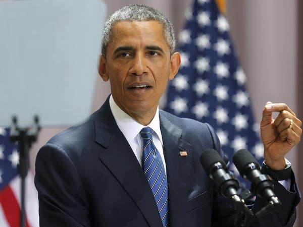 """#أوباما: أرى """"بارقة أمل"""" للحل السياسي في سوريا"""