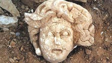 Ancient head of Greek creature Medusa uncovered in Turkey