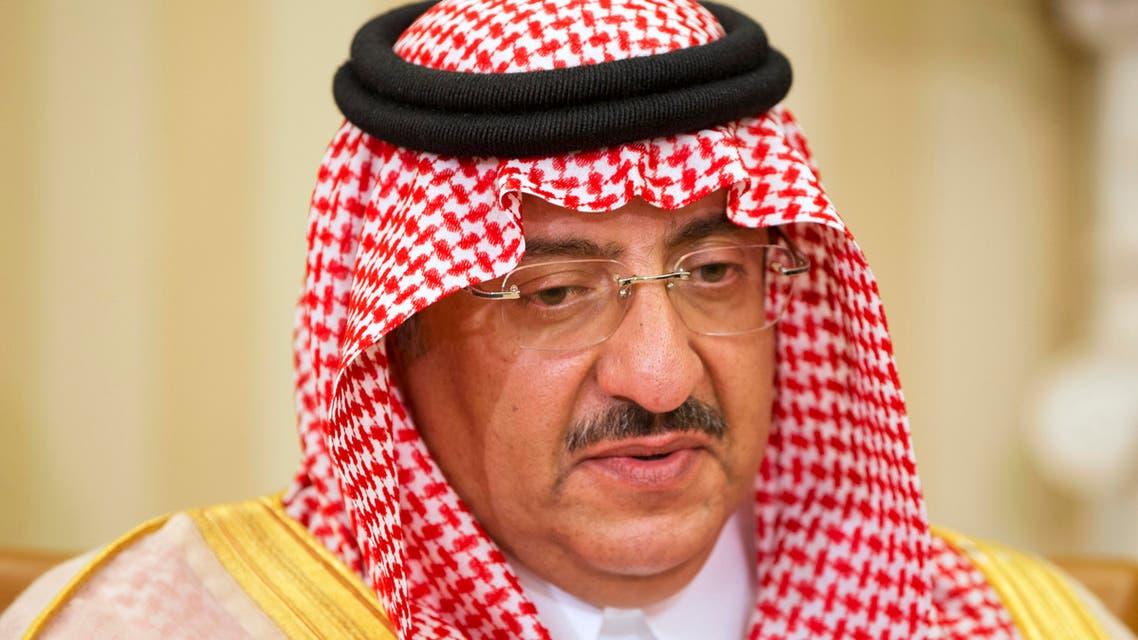 Saudi Arabian Crown Prince Mohammed bin Nayef, May 13, 2015. (AP)