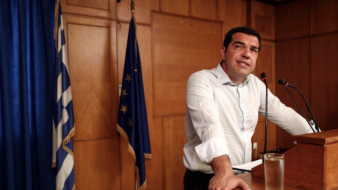 Greece's Prime minister Alexis Tsipras AP