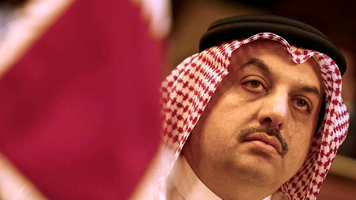 "Qatari Foreign Minister Khalid al-Attiyah said Doha does not regard the Muslim Brotherhood as a ""terrorist organization."" (File photo: Reuters)"