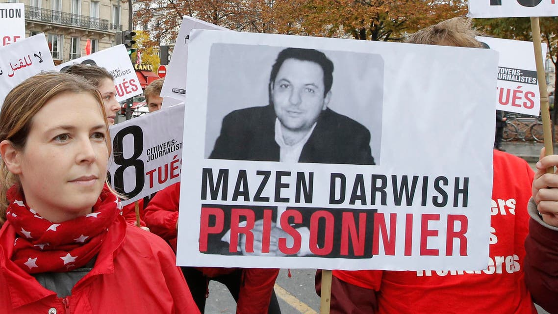 Darwish is one of the founders of syriaview.net, an independent news site banned by Syrian authorities in 2006 (File photo: AP)