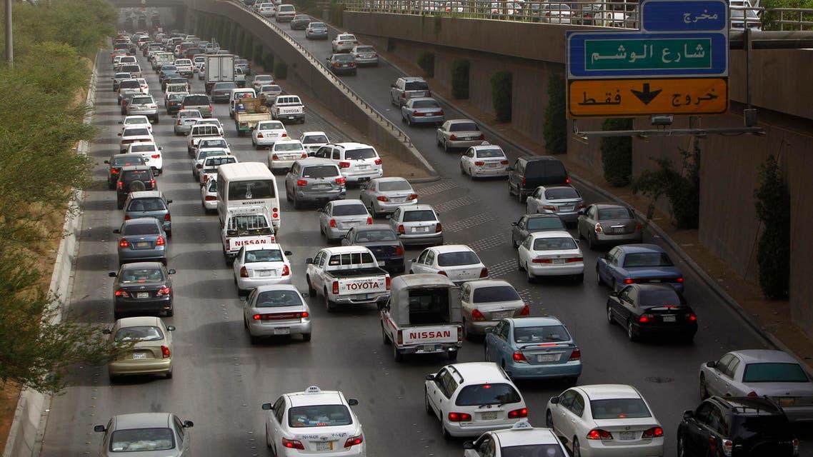 Riyadh traffic Reuters
