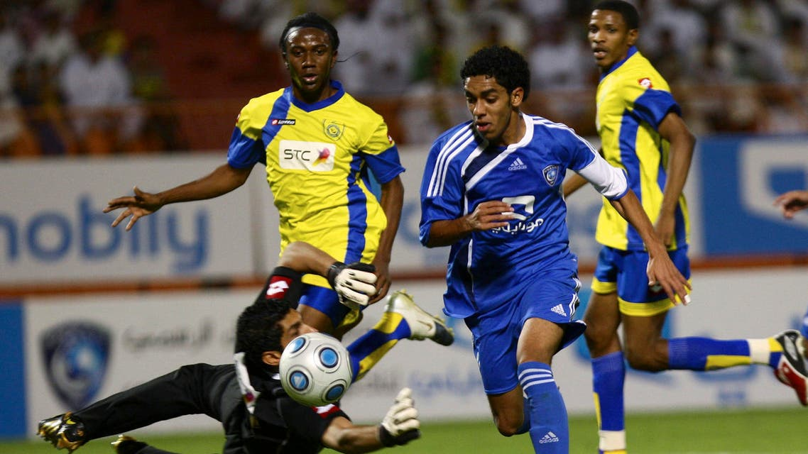 Al-Nasr and Al-Hilal are giants of the Saudi game. Both will compete in next year's AFC Champions League (Reuters)
