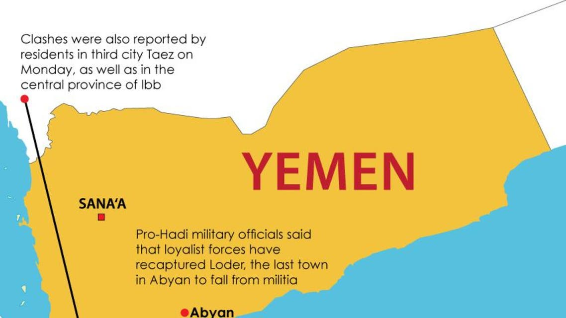 Infographic: South Yemen clashes intensify