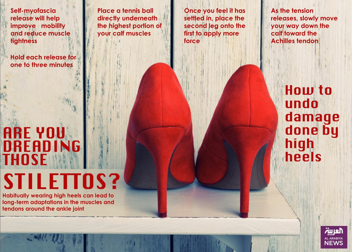Infographic: Are you dreading those stilletos?