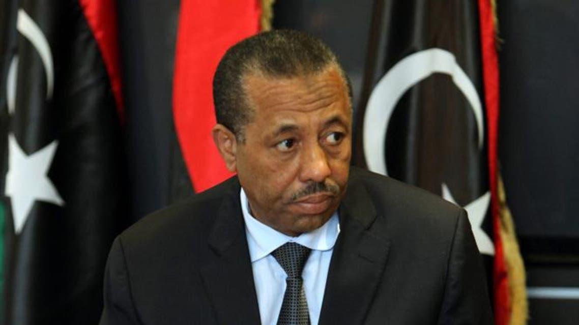 عبد الله الثني رئيس وزراء ليبيا