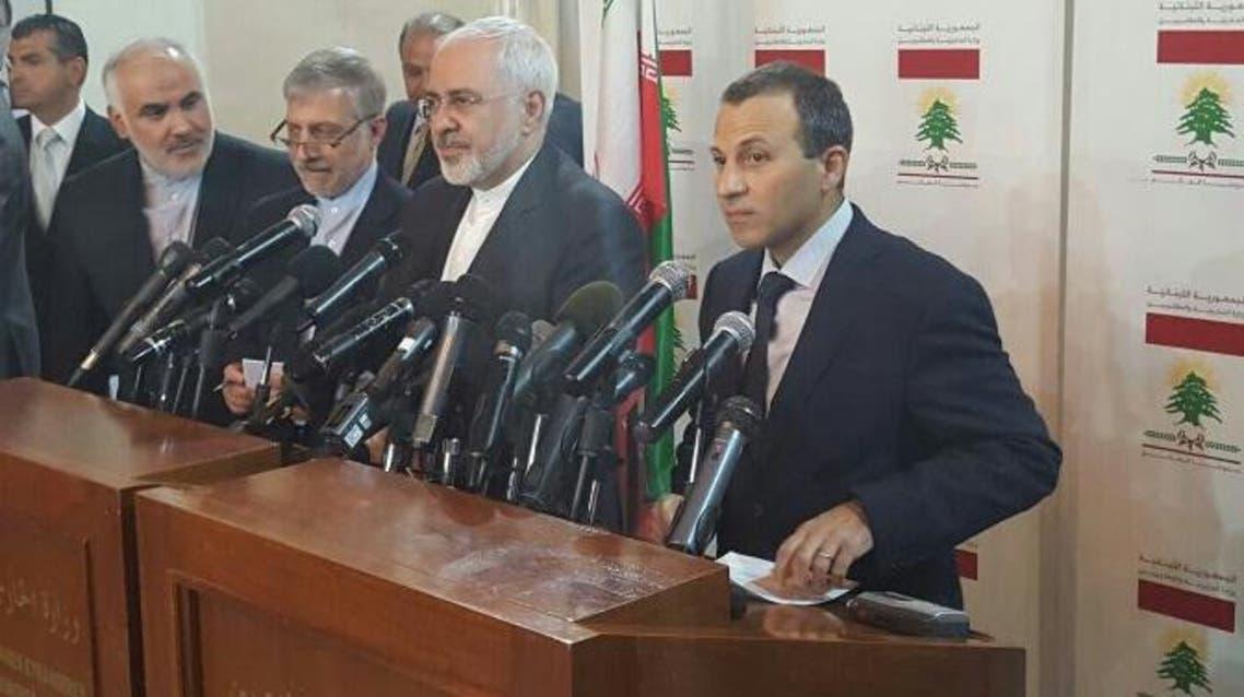 جبران باسیل و محمدجواد ظریف