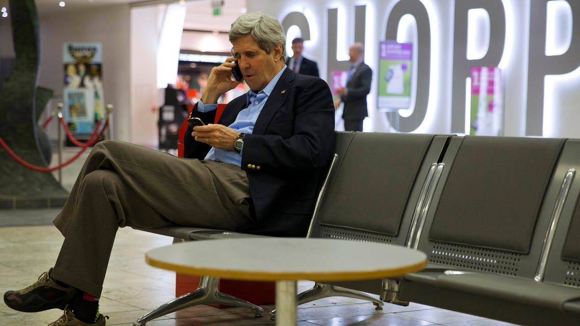 kerry on phone Reuters