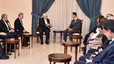 Zarif, Assad discuss fight against 'terror'