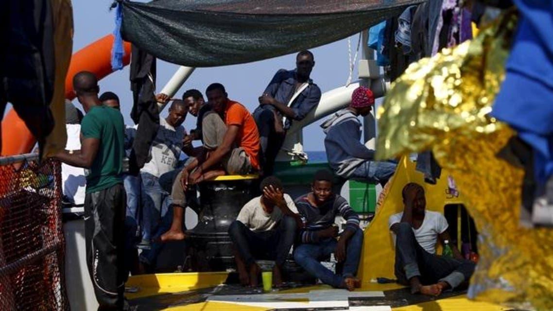 مهاجرون غير شرعيون ليبيا إيطاليا