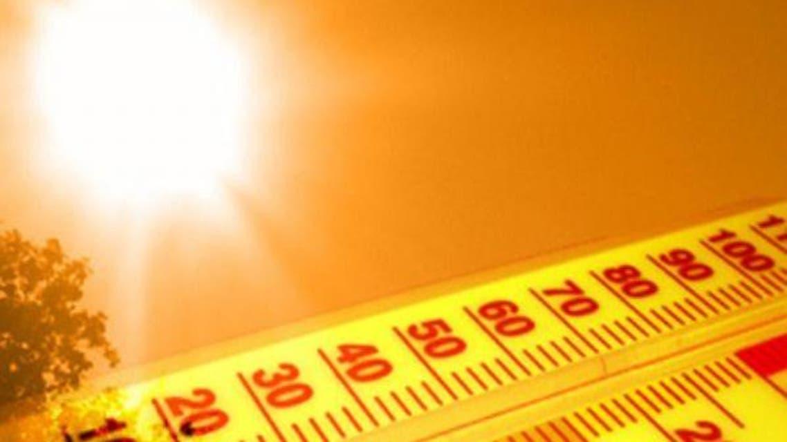 ارتفاع حرارة حر