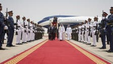 Yemeni president arrives in the UAE for talks