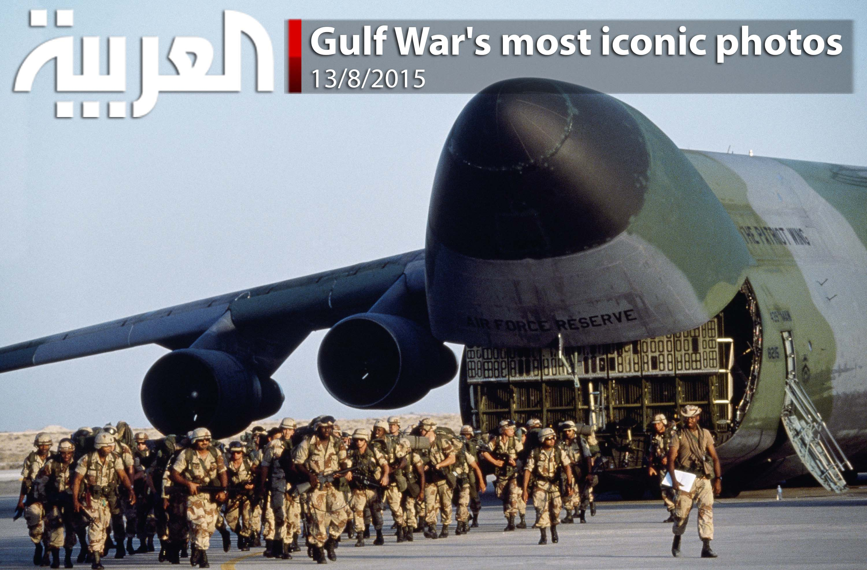 Most Iconic Gulf War images