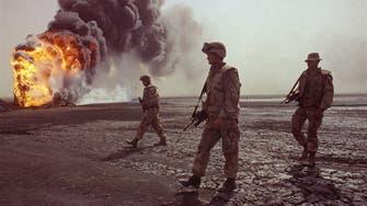Burning Kuwaiti oil wells still drain Iraqi budget