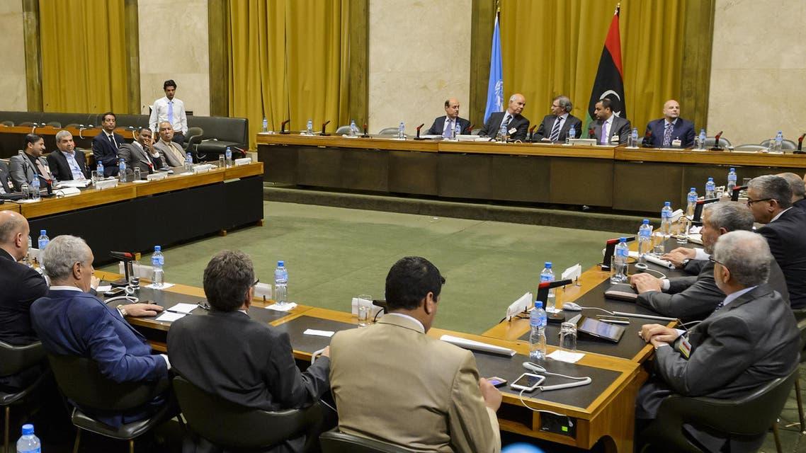 الحوار الليبي في جنيف