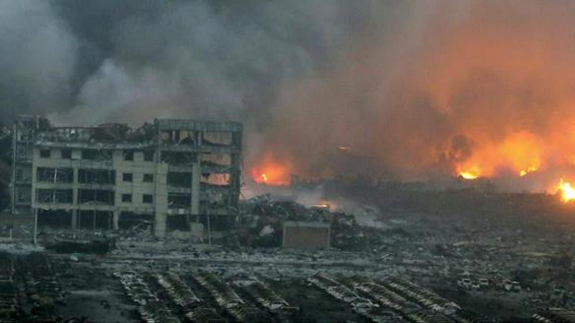 انفجار في الصين