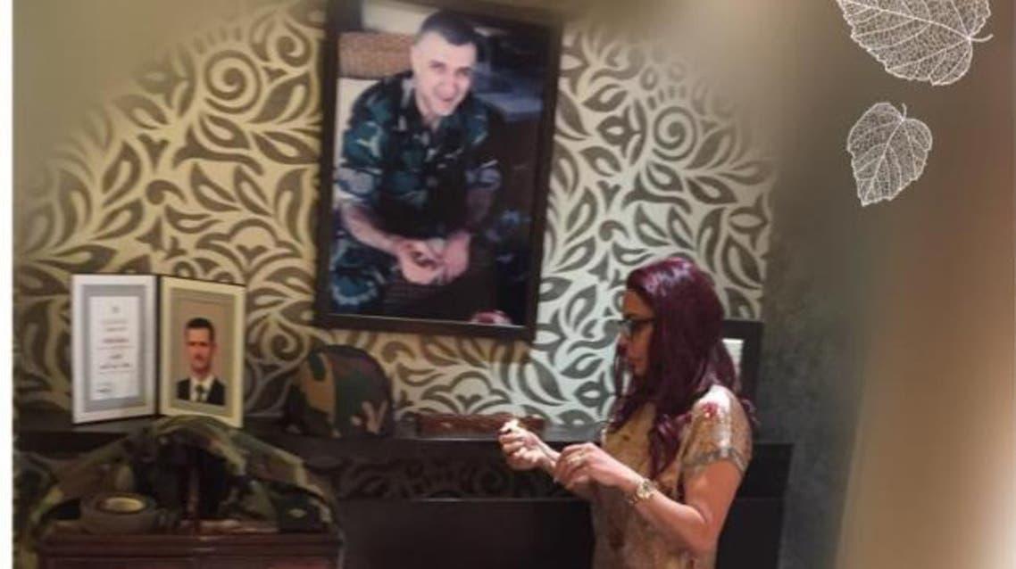 صورة جديدة للسيدة فاطمة مسعود  الأسد