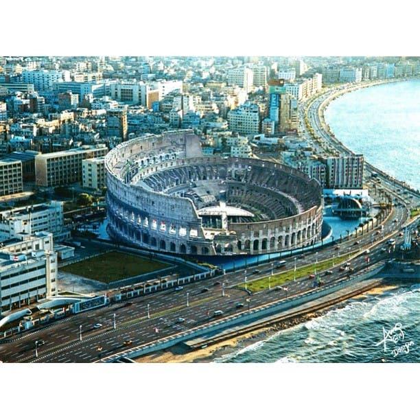 the Colosseum in Alexandria