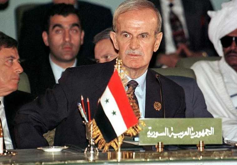 Late Syrian president Hafez Assad seen here at an Arab League summit in 1996. (File photo: Reuters)