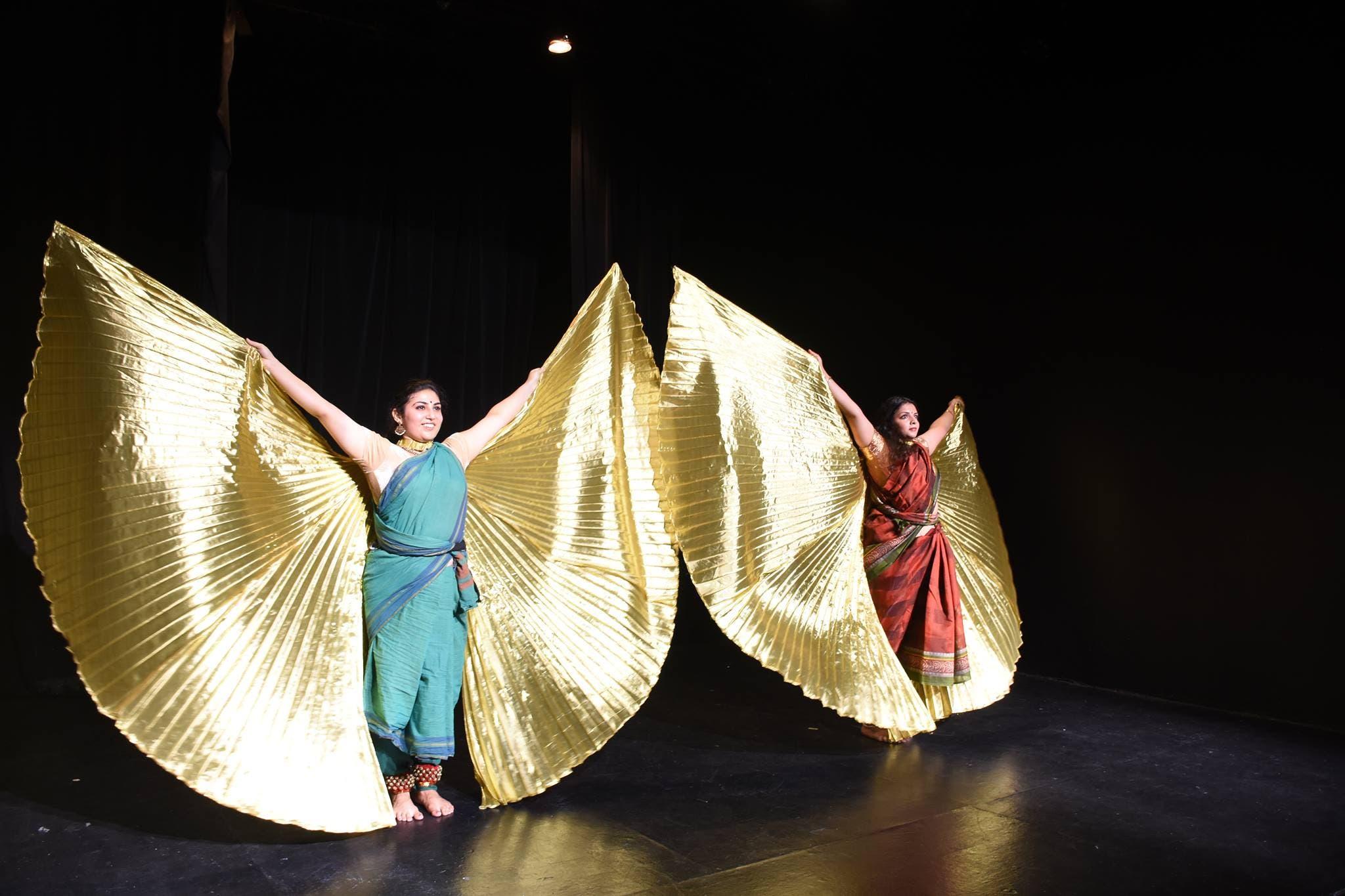 Nupuradhwani facebook dance