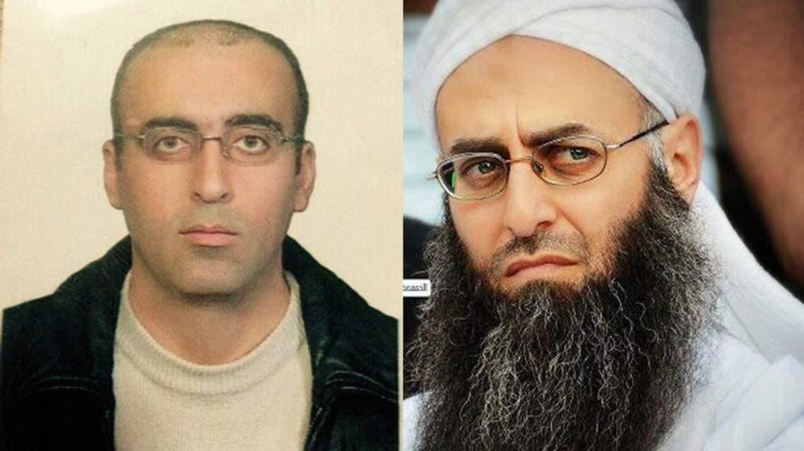 أحمد الأسير قبل وبعد إلقاء القبض عليه