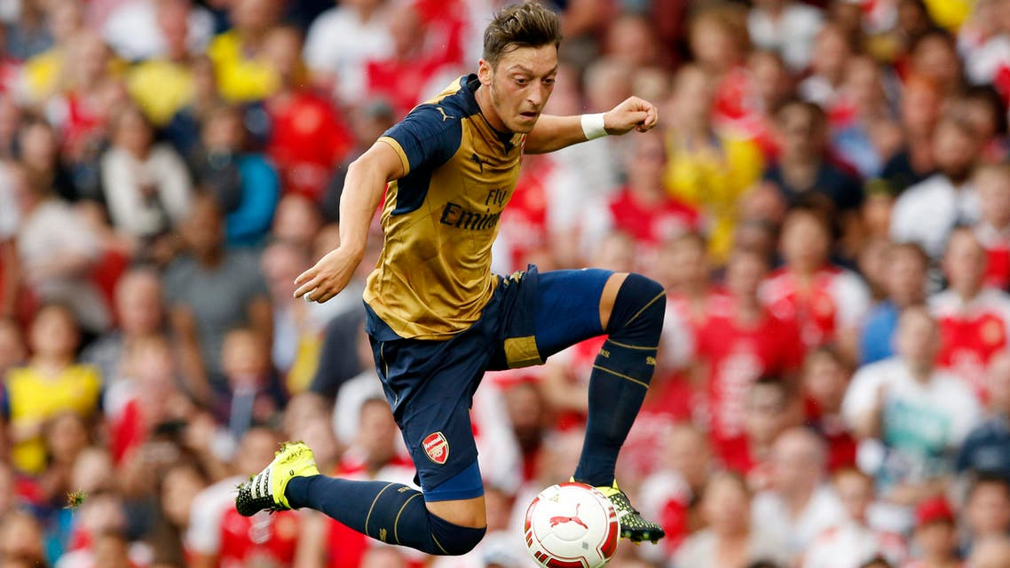 Arsenal's Mesut Ozil in action. (File: Reuters)