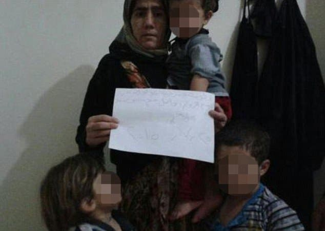 assyrian christian syrian woman isis mailonline