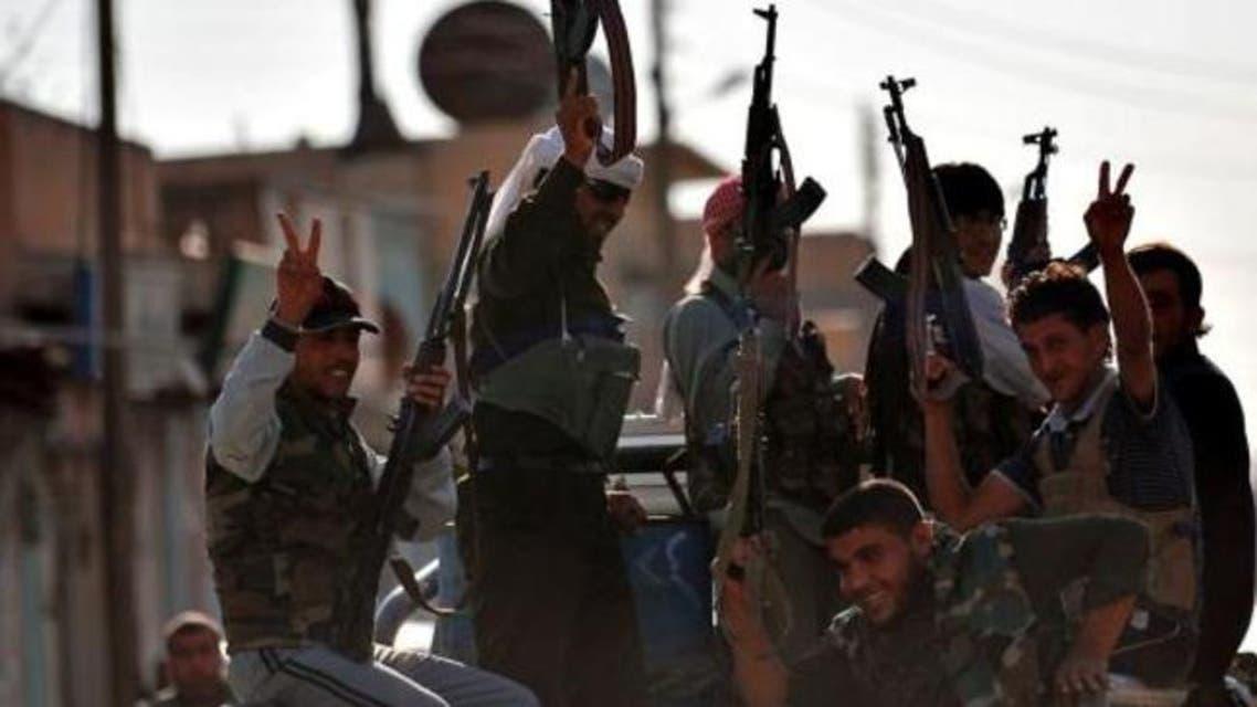 syrian rebels afp