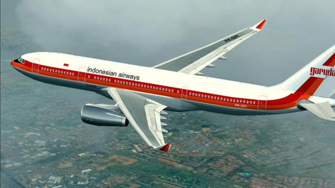طائرة أندونيسية