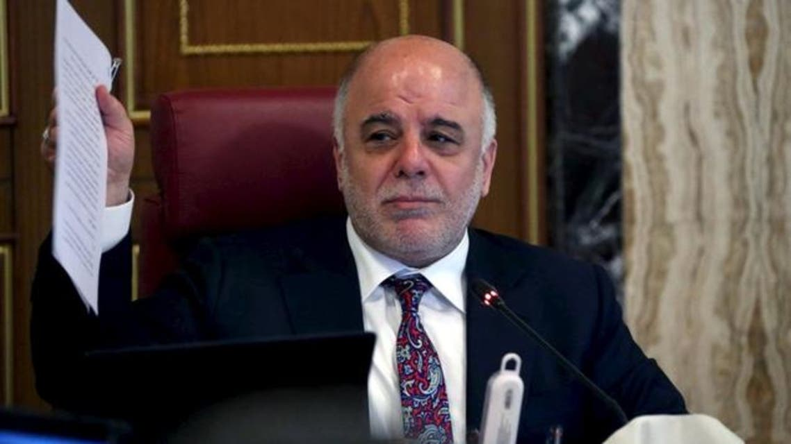 Iraq's Prime Minister Haider al-Abadi meet with Iraqi ministers in Baghdad August 9, 2015. (File photo: Reuters)