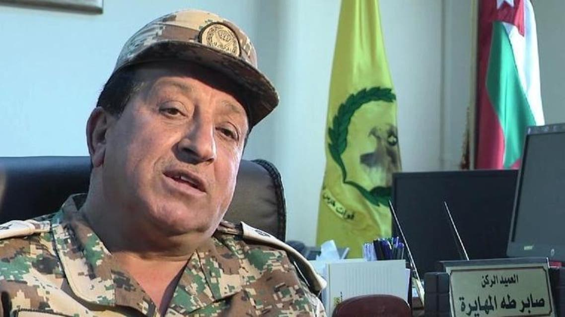 قائد حرس الحدود الأردني العميد صابر المهايرة