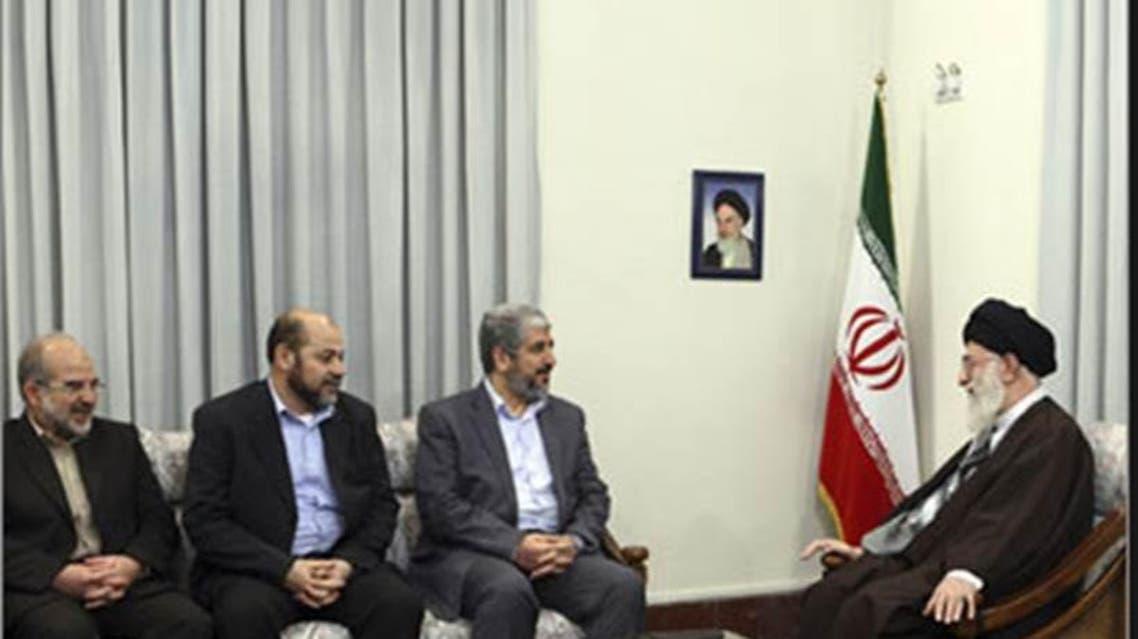 قادة حماس في ضيافة خامنئي