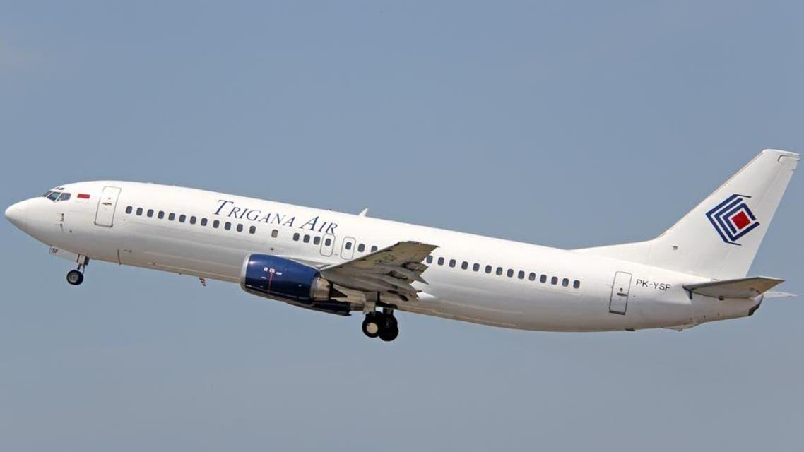 الطائرة الإندونيسية