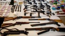 Italian police net huge haul of explosives, arms from 'mafia' garage