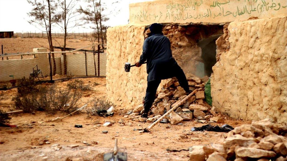 In March, pictures emerged of ISIS destroying sites of cultural significance, the latest showing Sufi shrines in Libya being levelled. (YouTube)
