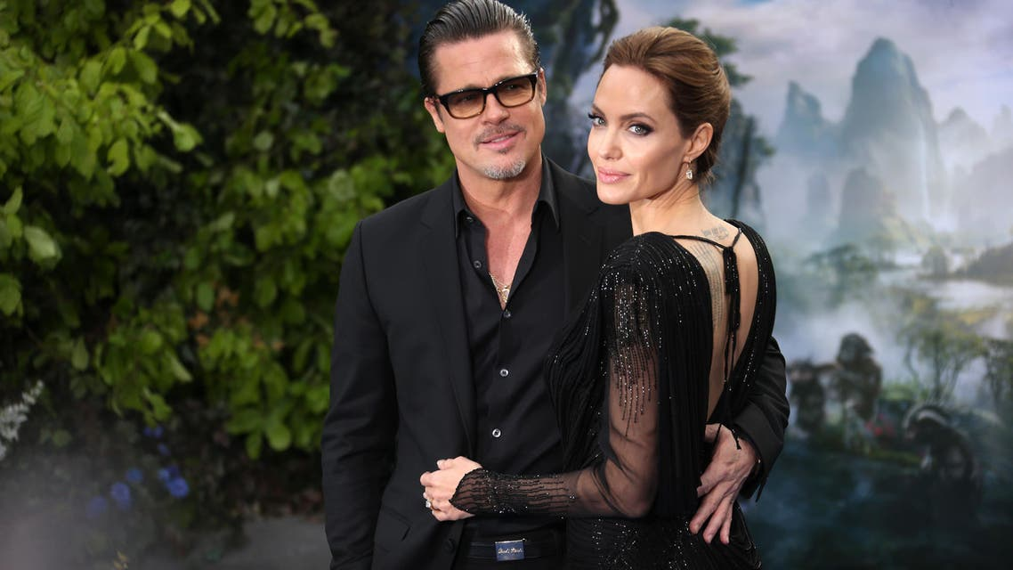 Brad Pitt and Angelina Jolie (AP)