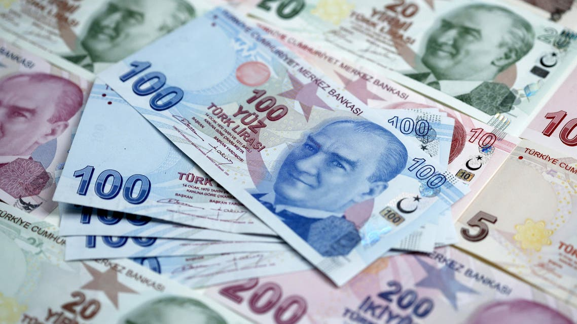 Turkish lira banknotes are seen in this file photo illustration shot in Istanbul, Turkey, January 7, 2014. (File photo: Reuters)