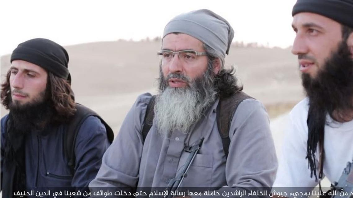 An ISIS video message released on Twitter on Monday shows a Turkish-speaking fighter
