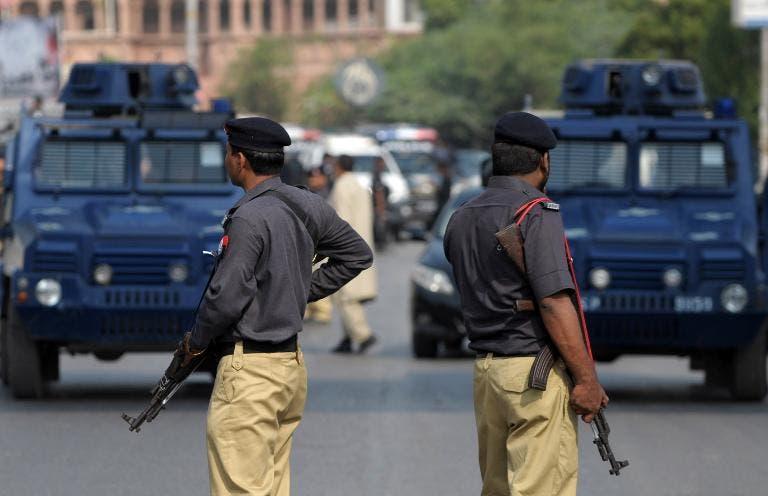 قوات من الشرطة الباكستانية