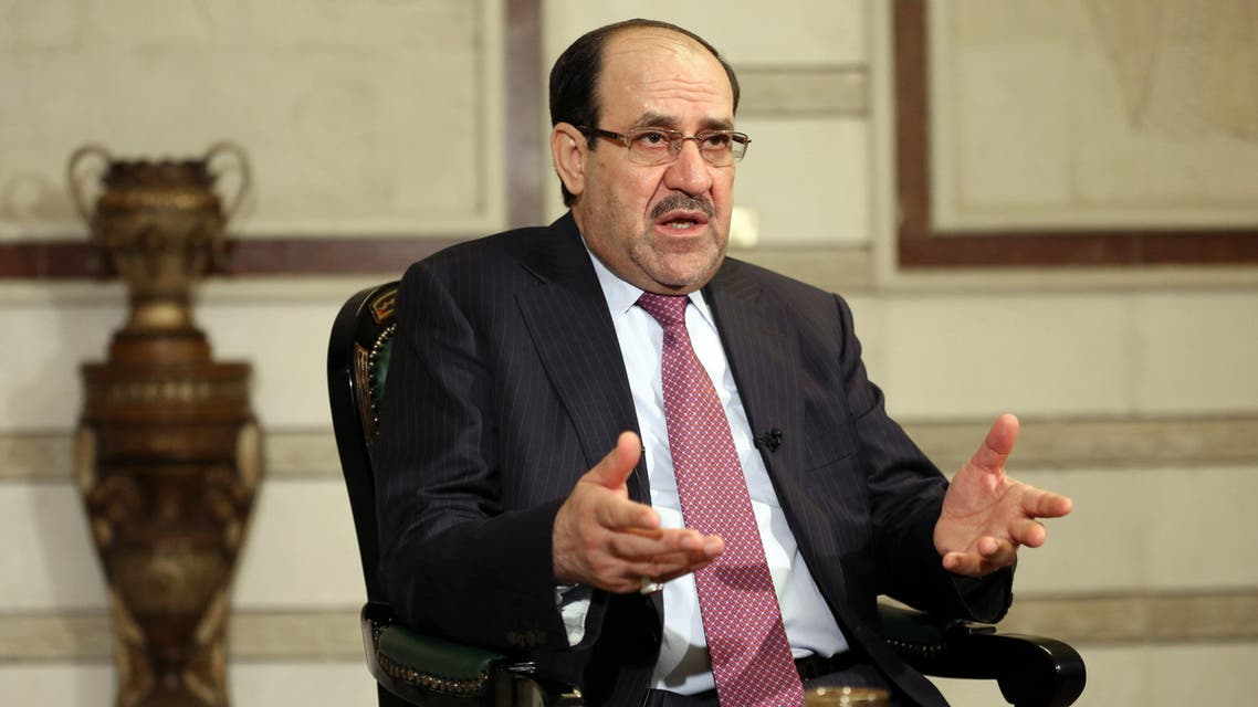Iraq's Vice President and former Prime Minister Nouri al-Maliki, speaks during an interview with The Associated Press in Baghdad, Iraq, Monday, Feb. 2, 2015. (File photo: AP)