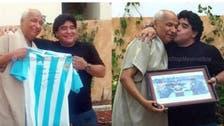 Maradona meets infamous 'hand of God' referee in Tunisia