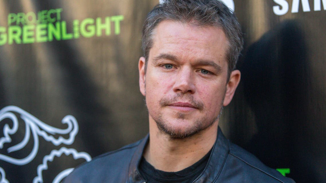 """Matt Damon attends The Project Greenlight Season 4 premiere of """"The Leisure Class"""" at The Theatre At The Ace Hotel on Monday, Aug. 10, 2015, in Los Angeles. AP"""