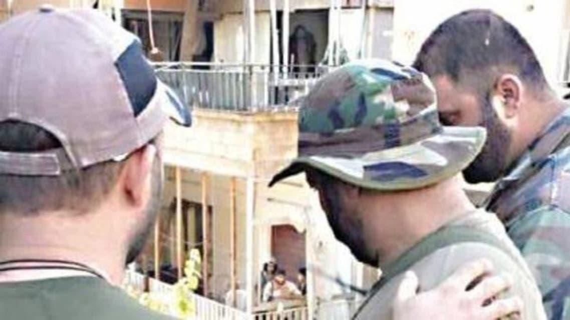 عناصر من حزب الله ونظام الأسد في الزبداني